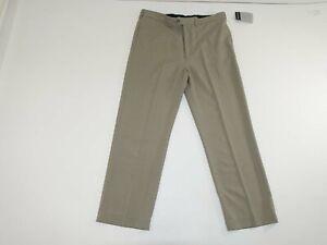 Geoffrey Beene Men's Performance Trouser Dress Pants 38 x 30 NWT Beige Slacks