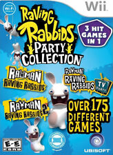 Raving Rabbid Party Collection WII New Nintendo Wii