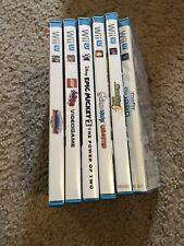 Nintendo Wii U Games Lot. Good Condition.
