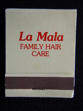 LA MALA FAMILY HAIR CARE A PERM TO A TRIM OR JUST SOME ADVICE 4591332 MATCHBOOK