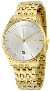 Skagen SKW2389 Holst Silver Dial Gold Tone Stainless Steel Women's Watch