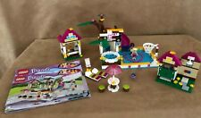 41008 Lego Complete Friends Heartlake City Pool swimming instructions worn books