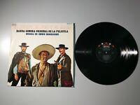 1010- EL BUENO EL FEO Y EL MALO BSO ENNIO MORRICONE ES 1968 LP VIN POR G+ DIS VG