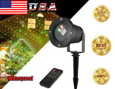 Outdoor LED Christmas House Laser Projector Lights Xmas Party Decor Waterproof