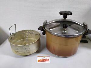 Ancienne Cocotte Minute Moulinex 8L litres  - Inox Alu