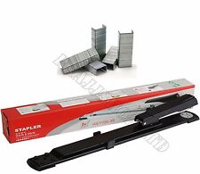 PREMIUM QUALITY LONG ARM STAPLER + FREE 3000 STAPLES UPT0 25 SHEETS BOXED PACKED