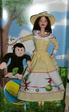 2000 Barbie and Curious George NRFB