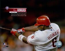 "Ryan Howard ""Philadelphia Phillies"" Licensed MLB Unsigned Glossy 8x10 Photo A"