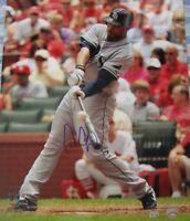 Carl Crawford signed autographed Rays 16x20 poster size photo MLB authenticated