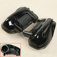 """Lower Vented Leg Fairings + 6.5"""" Speaker Box Pods For Harley Road Street Glide"""