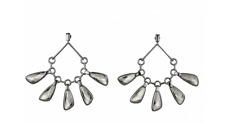 NIB Atelier Swarovski Paul Andrew Chandelier Drop Pierced Earrings #5377163