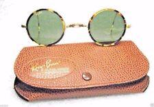 RAY-BAN USA *NOS VINTAGE B&L CHEYENNE I Lennon W1750 Honey~Torts *NEW Sunglasses