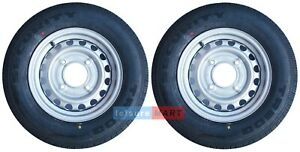 """2 x 165R13C 94/92R 165x13 inch trailer tyre 4 stud on 5.5"""" PCD  Ifor and Wessex"""