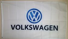 Volkswagen VW Banner 3x5 Ft Logo Flag Car Show Garage Wall Decor Gift Racing