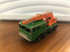 MATCHBOX, LESNEY, 8 WHEEL CRANE, DIE CAST, MODEL, NUMBER 30, VINTAGE