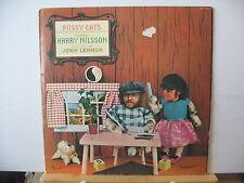 Harry Nilsson Pussy Gatos producido por John Lennon Reino Unido RCA Victor Records Vinilo Lp