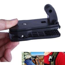 Black Travel Quick Clip Mount for GoPro HD Hero 2 3 3+ 4 Camera Accessories