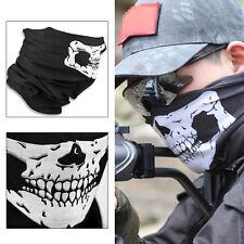 Skeleton Ghost Skull Face Mask Biker Balaclava Costume Halloween Cosplay Mask BO