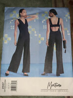 Vogue Montana Paris Original 2557 Misses Jumpsuit Size: 14-16-18 Uncut New