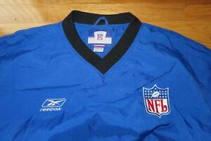 Reebok NATIONAL FOOTBALL LEAGUE (NFL) (XL) Pull-Over V-Neck Jacket