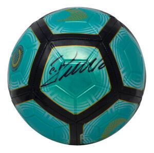 Cristiano Ronaldo Signed Blue F.C. Juventus Soccer Ball Fanatics