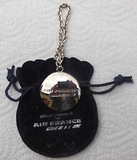 AIR FRANCE,RARE PORTE CLE EDOUARD RAMBAUD  AIR FRANCE AIRLINE COMPANY KEYCHAIN