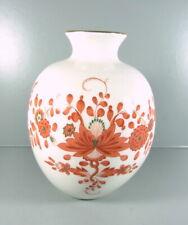 Meissen - Vase aus Meissner Porzellan - indisch Pupur - 14 cm hoch.