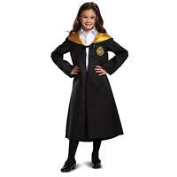 Child Harry Potter Hogwarts Crest Student Uniform Costume Hooded Robe Cloak S-L