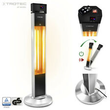 TROTEC Patio Heater IRS 2000 E | Infrared Heating | Outdoor | Garden | 2.000 W
