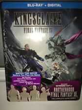 NEW Kingsglaive: Final Fantasy XV Steelbook Blu-Ray + Digital w/ Brotherhood
