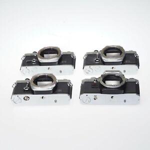 Lot of 3 Olympus OM Series 35mm FIlm SLR Camera Bodies AS-IS
