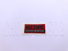 STICKER REPLACEMENT HOT TOPIC EXCLUSIVE PRE-RELEASE FUNKO POP