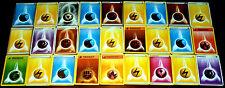 Lot de 27 Cartes POKEMON ENERGIES Different ENERGY (2 HOLO, no double) Mint