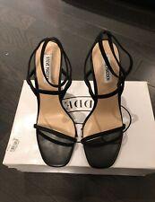NIB Steve Madden Black Strap Sandals Size 38