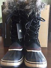 NWB Women's Sorel For J Crew Joan Of Arctic Winter Boots Black Size - 9