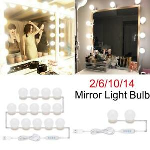 2/6/10/14pcs LED Women Makeup Mirror Light Bulb Dimmable Hollywood Vanity Lights