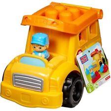 Mega Bloks First Builders School Bus Building Set Kids Toy
