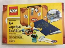 New Lego Travel Building Suitcase LEGO Minifigure Passport Suitcase Set Mini Fig