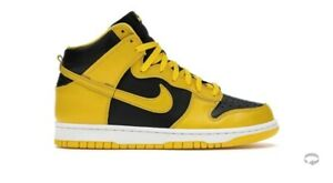 Nike Dunk High Black Varsity Maize Yellow Wu Tang Size 12 DEADSTOCK Confirmed...