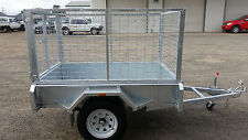 Galvanised Box Trailer