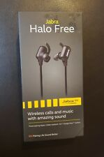 Jabra Halo Free Wireless Bluetooth Stereo Earbuds. Free Shipping. Brand New