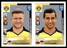Panini FIFA 365 2016 - Blaszczykowski – Mkhitaryan Dortmund No. 513 - 514