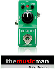 Ibanez TS Mini Tube Screamer Mini - Overdrive Guitar Effects Pedal **New**