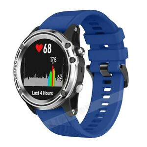 Silicone Wristband Strap Band for Garmin Forerunner 945/935 Fenix 5 Plus/6 X Pro