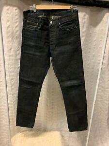 Helmut Lang Men's Jeans Sz 30 Button Fly Pants Denim
