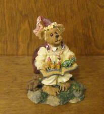 Boyds Bearstone #227763 Syn Princess Readalot & Friends.Imagine That, New/box