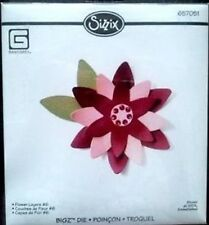 SIZZIX BIGZ Large Die Cutter FLOWER LAYERS #6 fits Cuttlebug 657051