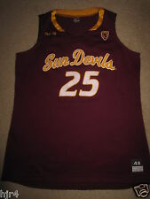 Arizona State Sun Devils #25 Game Worn Used Basketball Jersey Womens 48