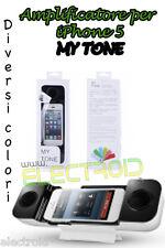 AMPLIFICATORE PER APPLE IPHONE 5 5S 5C HANDSET SPEAKER MY TONE ROSA PINK NUOVO