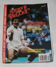 SERVE & VOLLEY THE TENNIS MAGAZINE JANUARY/FEBRUARY 1992 - THE GRAND SLAM CUP